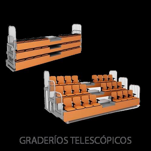 Graderios-Telescopicos